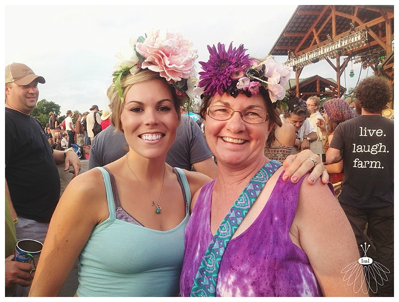 festival flower crowns by little miss lovely // floydfest // silk flower crown