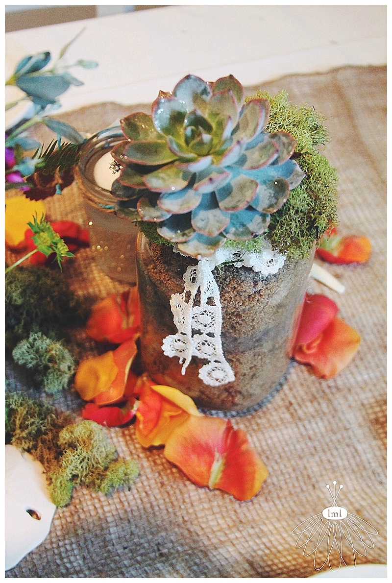 little miss lovely // ocean city maryland wedding florist succulents