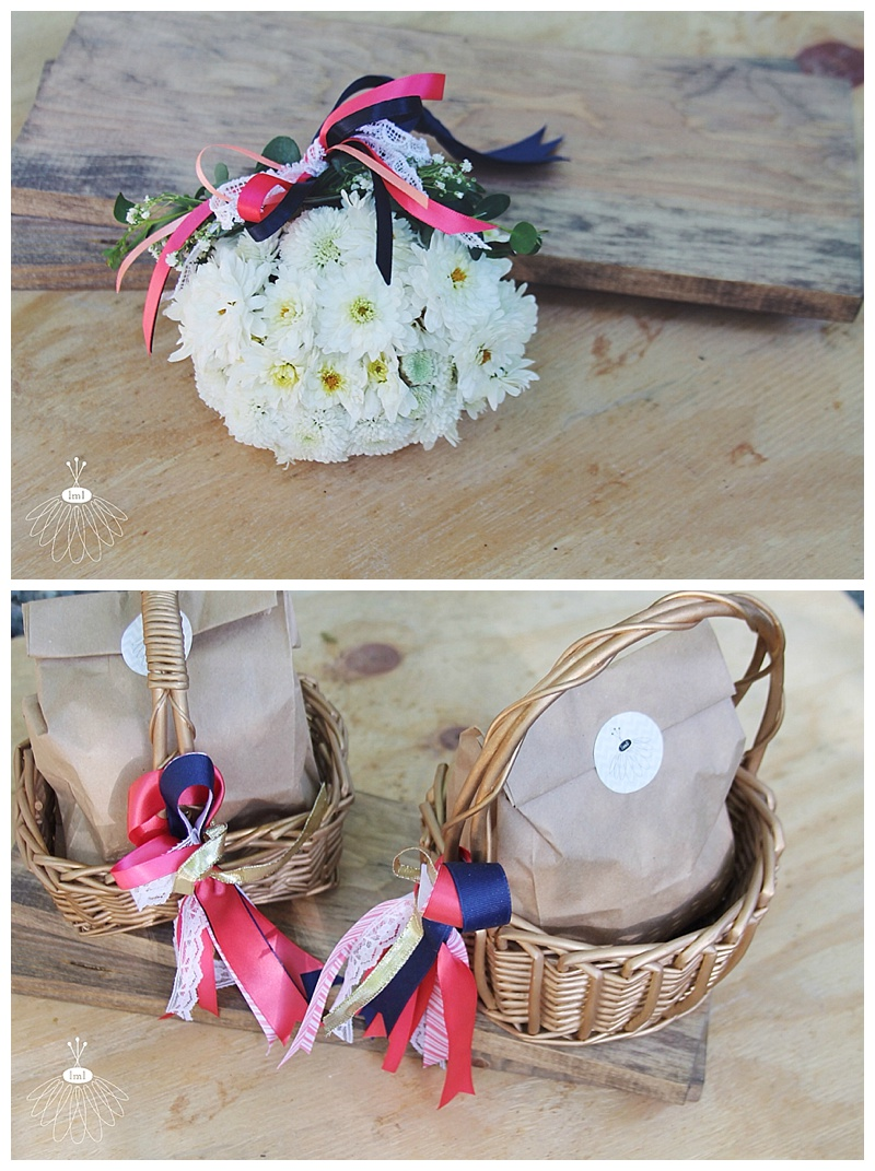 little miss lovely // rehoboth beach delaware flower girl ball and baskets