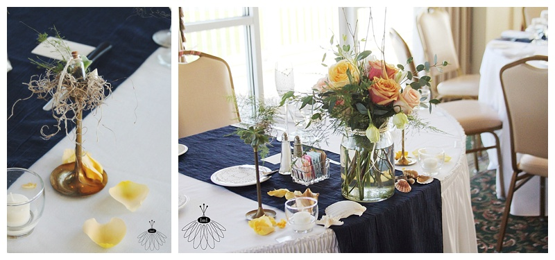 little miss lovely // wedding florist delaware sweetheart table