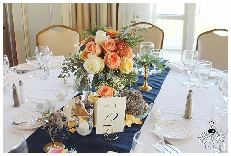 little miss lovely // rehoboth beach delaware country club wedding florist