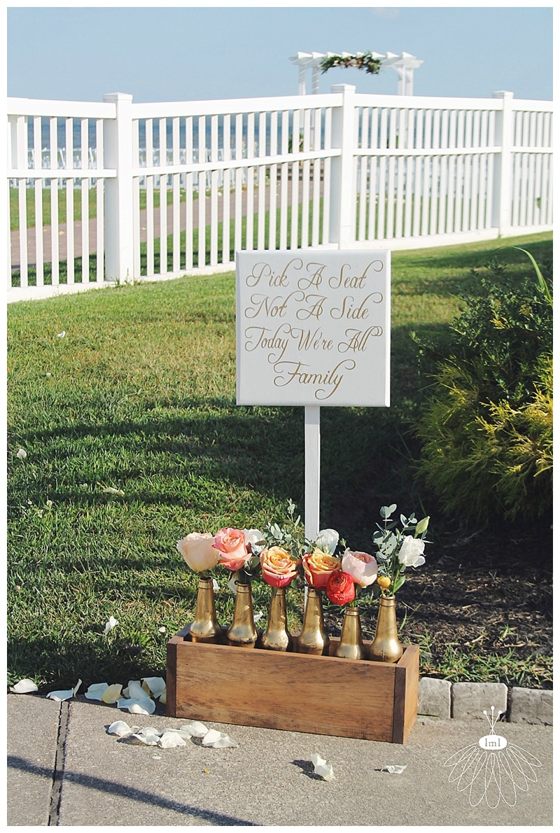 little miss lovely // rehoboth beach country club pick a seat sign