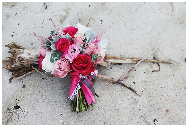 little miss lovely // bishopville md florist pink white grey bouquet