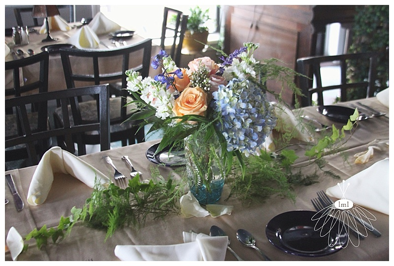 little miss lovely // ocean city wedding florist adolfos reception centerpieces
