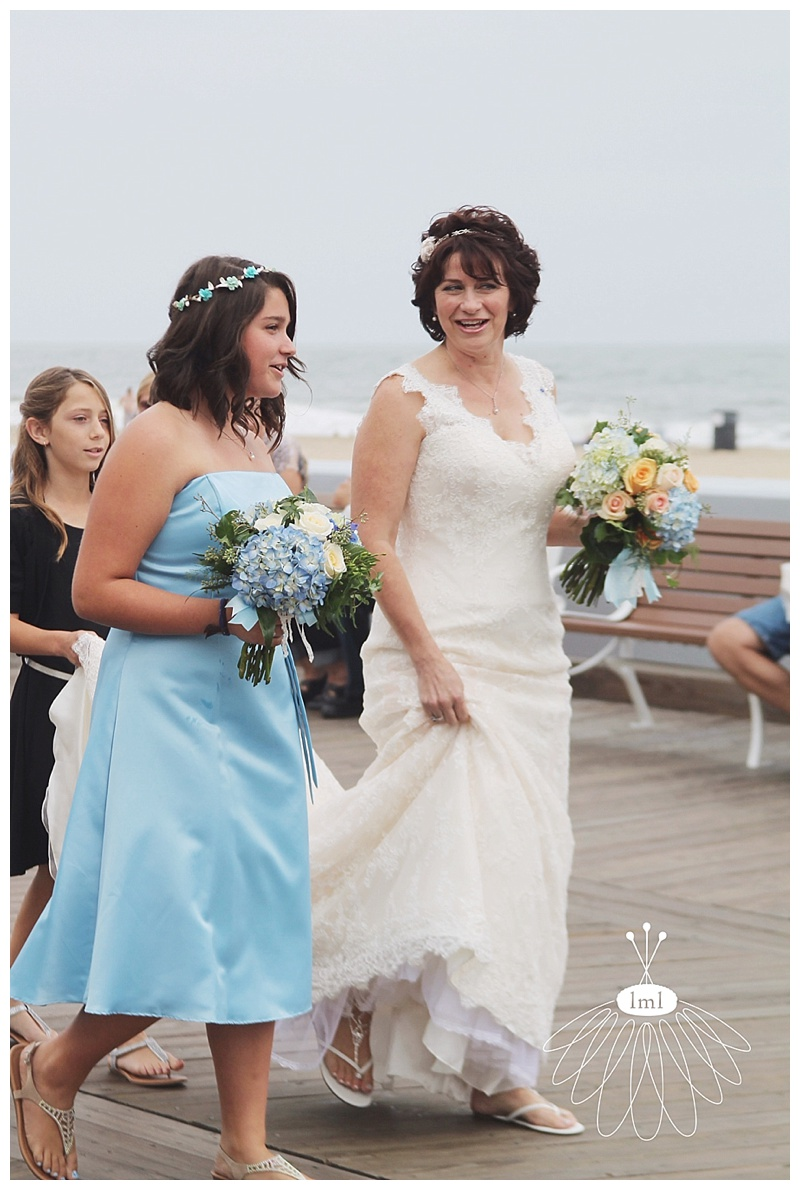 little miss lovely // ocean city md beach boardwalk wedding