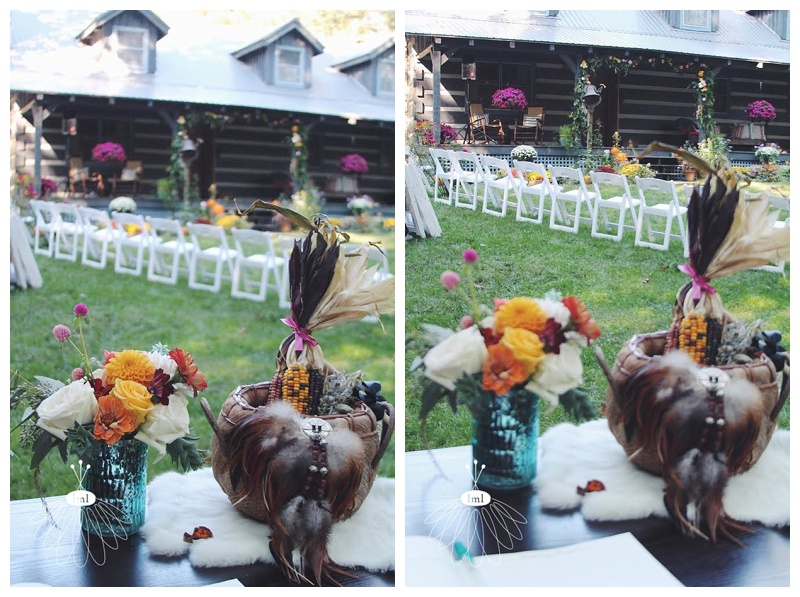 little miss lovely // parsons burg md florist southwest native american wedding flowers