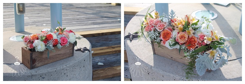 little miss lovely // ocean city maryland wedding florist // sunset park wedding