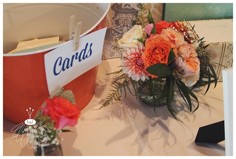 little miss lovely // ocean city wedding florist // md the angler wedding reception