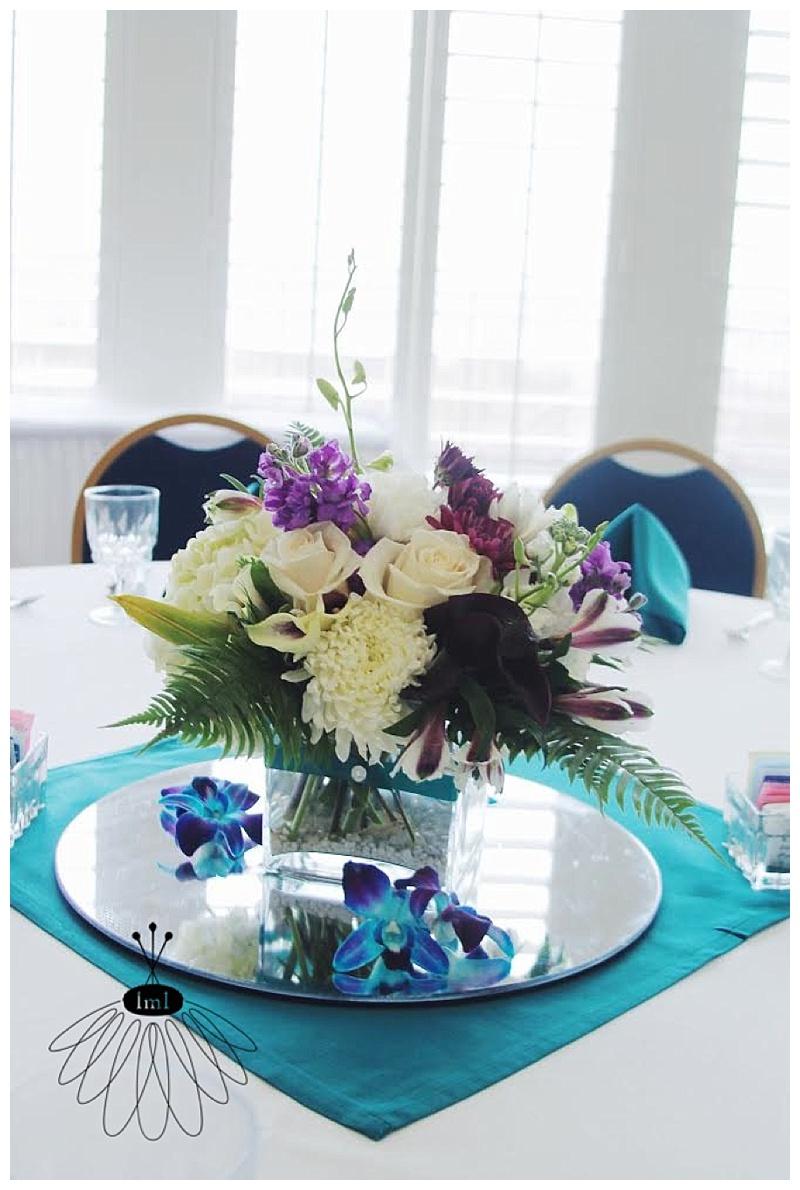 little miss lovely // ocean city wedding florist dunes manor hotel wedding beach