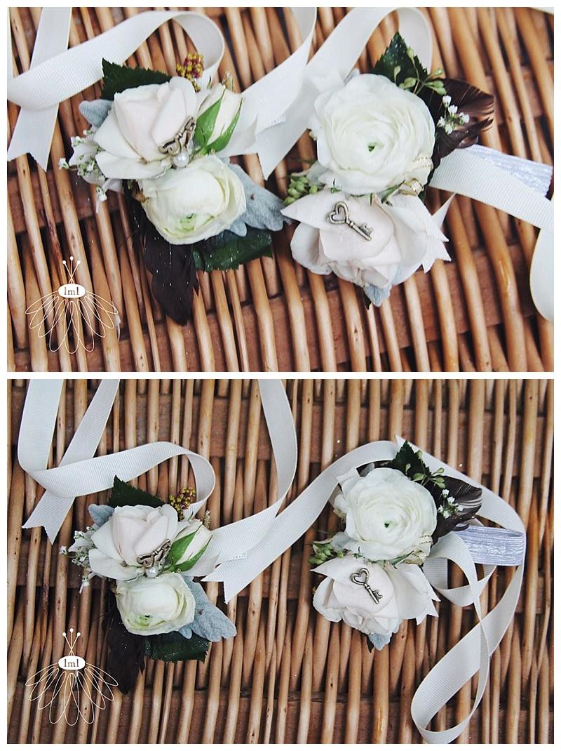 little miss lovely // berlin maryland wedding florist mother corsages