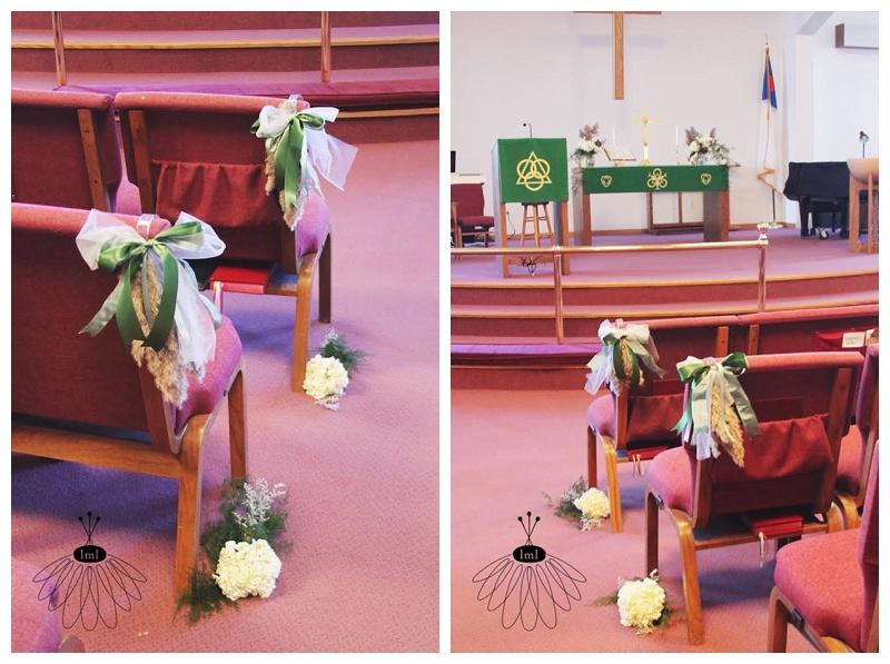 little miss lovely // berlin wedding florist ocean pines community church wedding