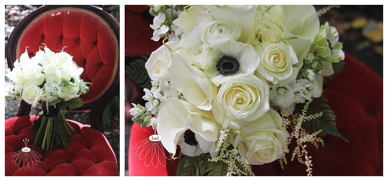 black and white wedding bouquet // little miss lovely // Ocean City Maryland wedding florist