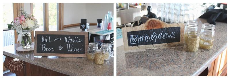 rustic mason jar centerpieces // ocean pines yacht club // little miss lovely wedding florist
