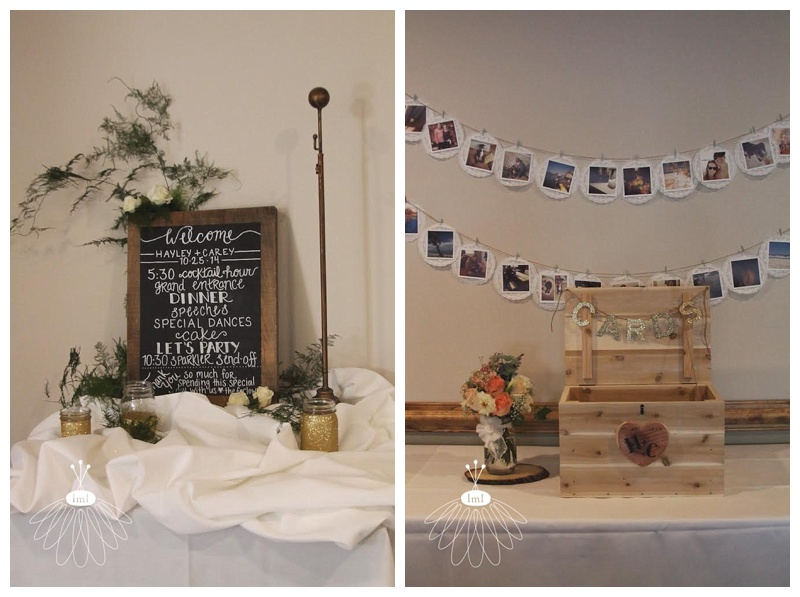 chalkboard babys breath gold wedding // ocean pines yacht club // little miss lovely wedding florist