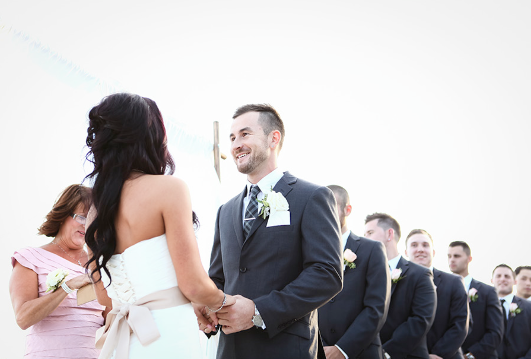 little miss lovely // ocean city maryland wedding florist // photo by sarah murray photography