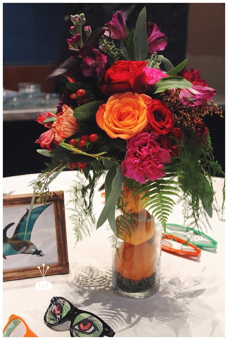 little miss lovely // baltimore maryland wedding florist // pumpkin centerpieces