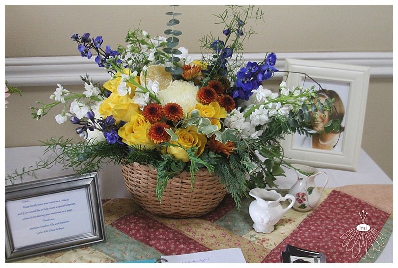 little miss lovely // ocean city maryland event florist // colonial memorial service flowers