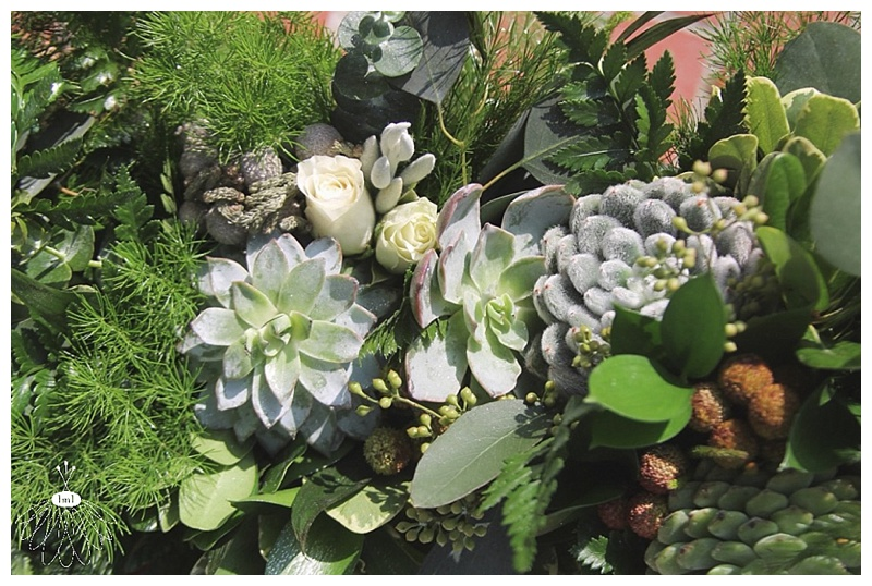 air plant and succulent bridal bouquets // greenery bouquet // little miss lovely berlin md wedding event florist