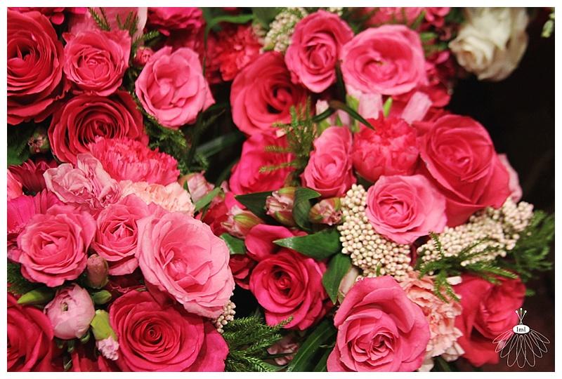 little miss lovely // ocean city maryland wedding florist // pink bridal wedding bouquets