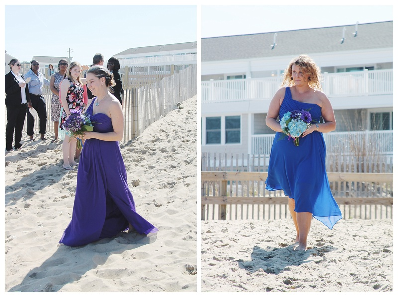 little miss lovely floral design // ocean city md wedding florist // beach wedding