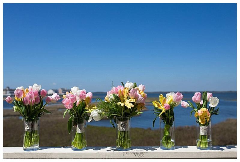 little miss lovely floral design // ocean city maryland florist // tulip bouquets
