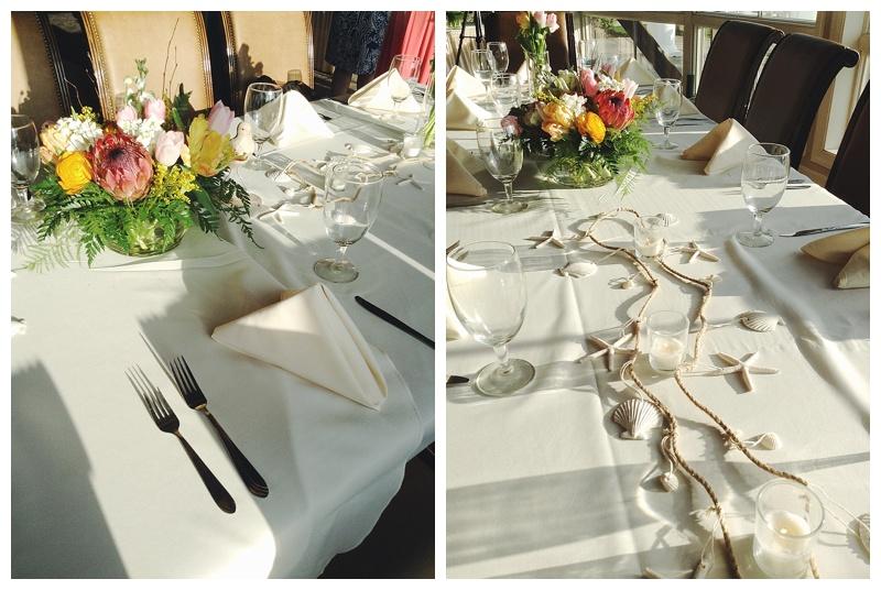 little miss lovely floral design // ocean city maryland wedding florist // peony and tulip wedding centerpiece // lighthouse sound restaurant wedding reception