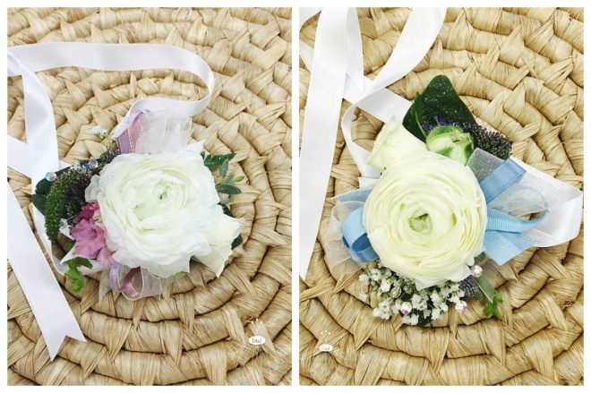little miss lovely floral design // mother corsages // ocean city wedding florist