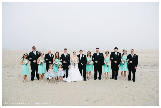 little miss lovely floral design // ocean city maryland wedding // erin wheeler photography