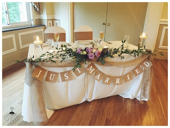 the inn at pocono manor wedding // little miss lovely floral design