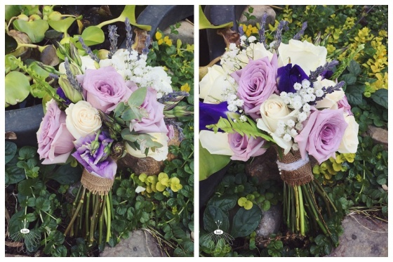 little miss lovely // ocean city maryland wedding florist // purple and white beach wedding