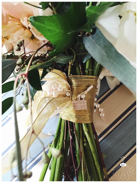 little miss lovely // salisbury maryland wedding florist // peony and garden rose bouquet // poplar hill mansion wedding