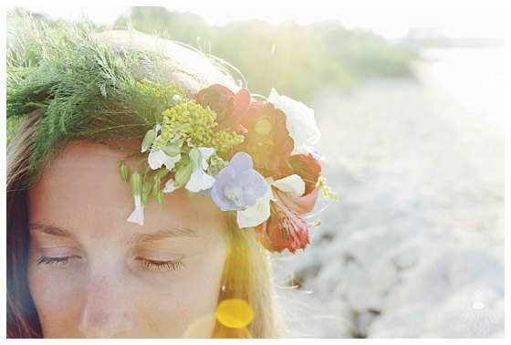 little miss lovely floral design // red white and blue flower crown // ocean city maryland