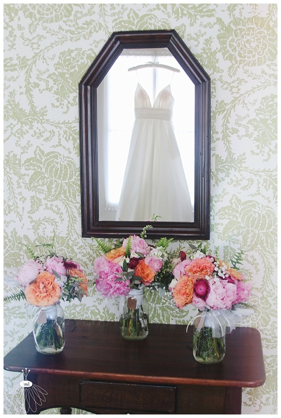 little miss lovely floral design // berlin maryland wedding florist // atlantic hotel wedding