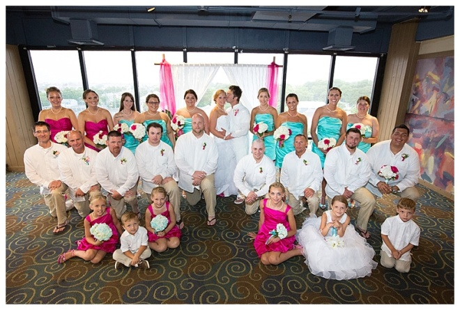 little miss lovely floral design // dana marie photography // peakys ocean city md beach wedding