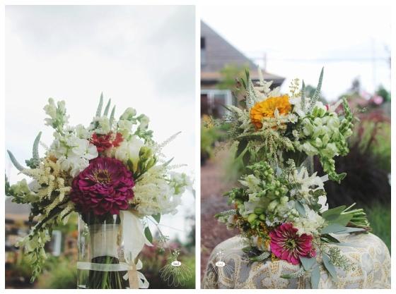 little miss lovely floral design // ocean city md wedding florist // wildflower bohemian bouquet