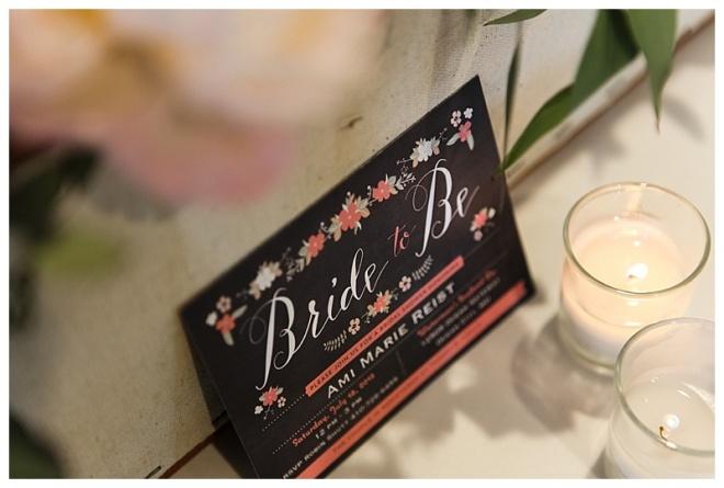 little miss lovely floral design // ocean city kitchen themed garden bridal shower flowers