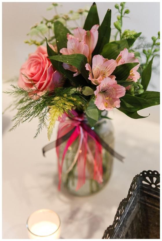 little miss lovely floral design // ocean city maryland florist // kitchen garden themed bridal shower