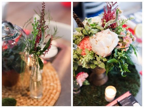 little miss lovely floral design // garden themed bridal shower // ocean city maryland