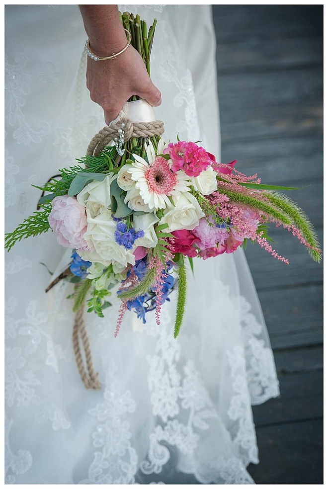 little miss lovely floral design // ocean city maryland wedding florist // kimberly tucker photography