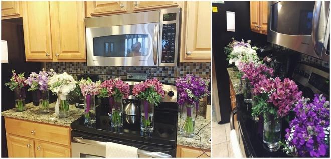 little miss lovely floral design // ocean city maryland hurricane wedding