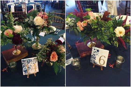 little miss lovely floral design // baltimore maryland wedding florist // 1840s plaza wedding
