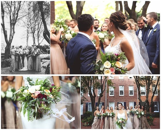 little miss lovely floral design // baltimore maryland wedding florist // sarah murray photography