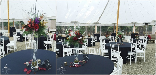 little miss lovely floral design // habitat for humanity worcester county anniversary gala