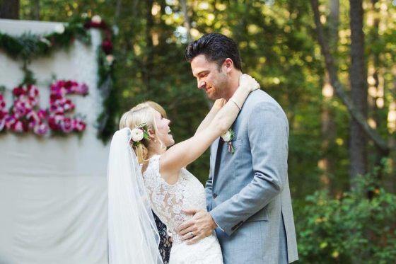 little miss lovely floral design // pocomoke state park wedding