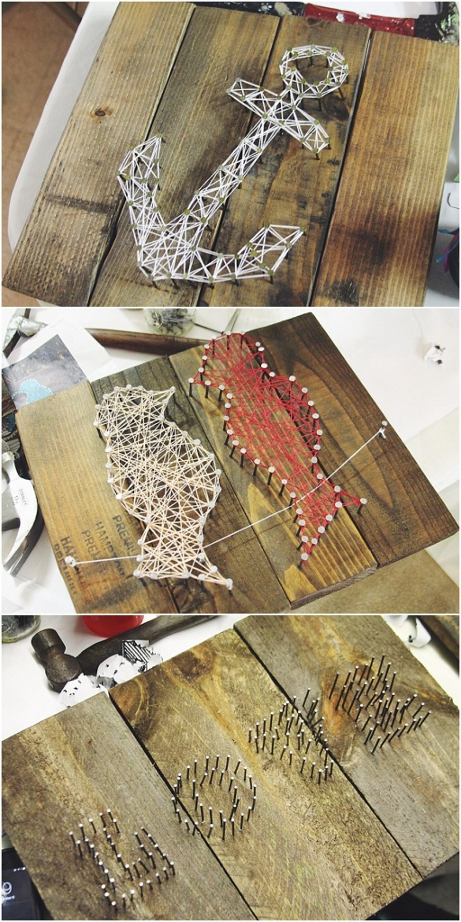 little miss lovely // string art workshop at urban nectar berlin maryland