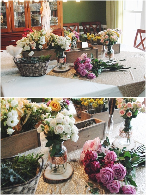little miss lovely floral design // flower crown kids birthday party // ocean city maryland