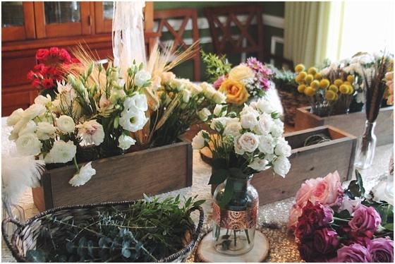 little miss lovely floral design // flower crown workshop // ocean city maryland