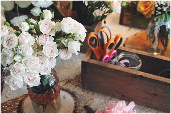 little miss lovely floral design // flower crown birthday party // ocean city maryland
