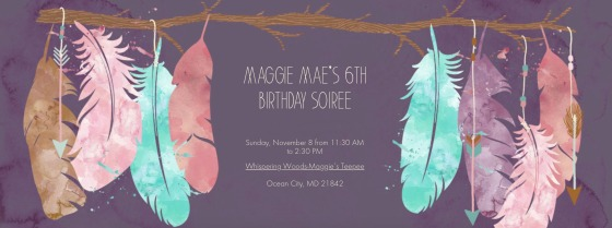 maggie mea's 6th birthday soiree
